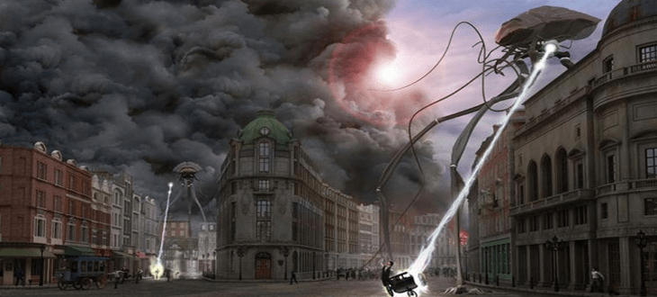 Herbert Welles, War Of The Worlds, Война Миров, инопланетяне, сериал, МТВ, MTV, Герберт Уэллс