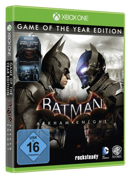 """Batman: Arkham Knight Game of The Year Edition"" дата выхода"